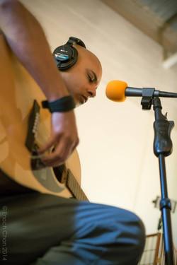 Imran Siddiqui on Guitars and Vocals