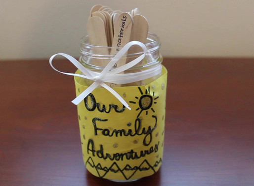 Adventure Jar & 37 At-Home Activities to Entertain Your Kids
