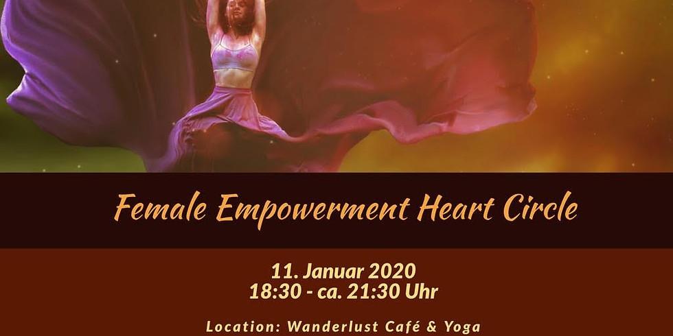 Female Empowerment Heart Circle