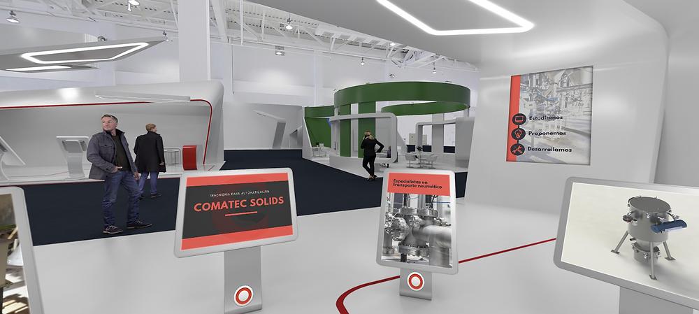 Comatec Solids S.L, participó en la primera Feria Internacional Virtual del Proceso Industrial que se celebró los días 10 y 11 de marzo de 2021.