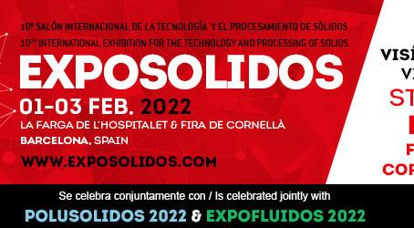 Comatec Solids en Exposolidos 2022