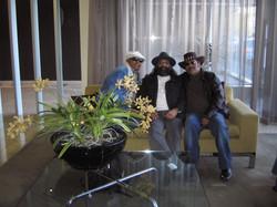 3 Hat-Bearers-with Sivamani & Hariharan,