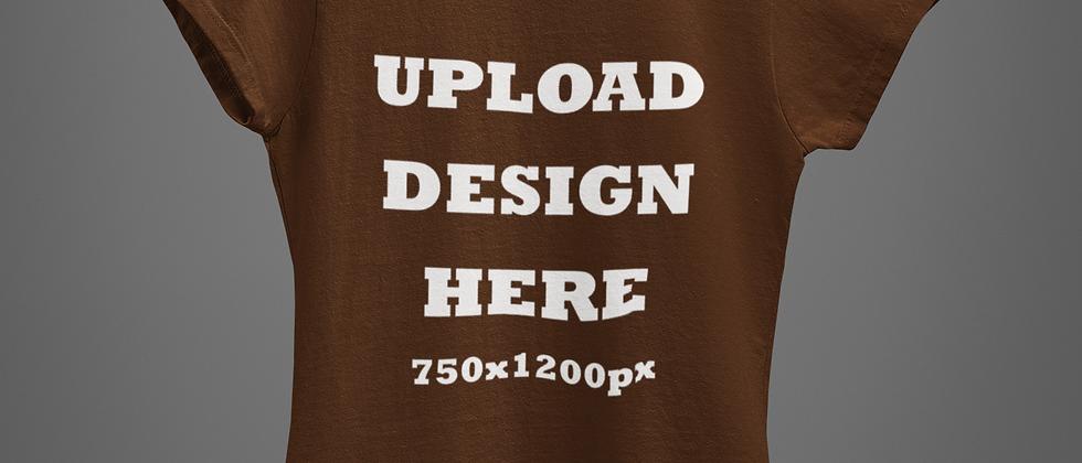 Custom Brown T-Shirts