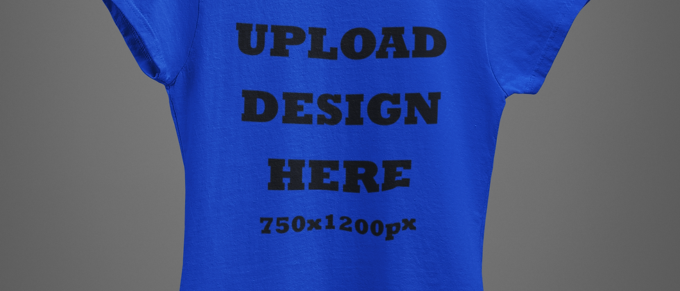 Custom Blue Royal T-Shirt