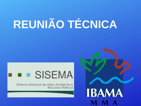 SISEMA e IBAMA Promovem Reunião Técnica