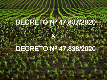 Licenciamento ambiental sofre mudanças em MG e beneficia pequeno produtor