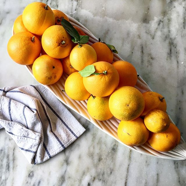My kitchen is all about the citrus 🍊