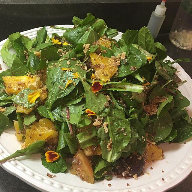 Quinoa beet & citrus 🍊 salad 🥗