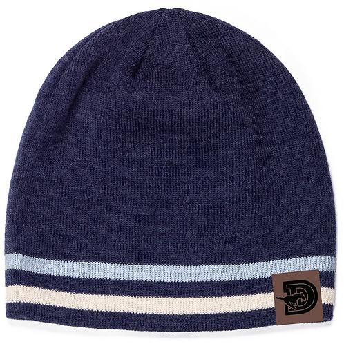 One Size Stylish Dawson Winter Hat- simple stripes