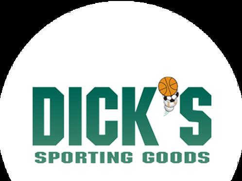 Dicks Sporting Goods $25