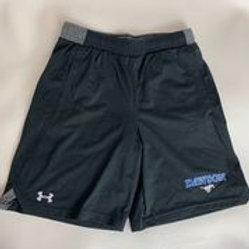 Kids Under Armour Black Athletic Shorts