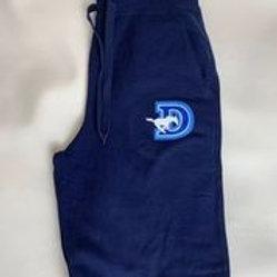 Men's Navy Sweatpants