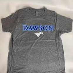 Kids Next Level Grey Mustangs T-Shirt