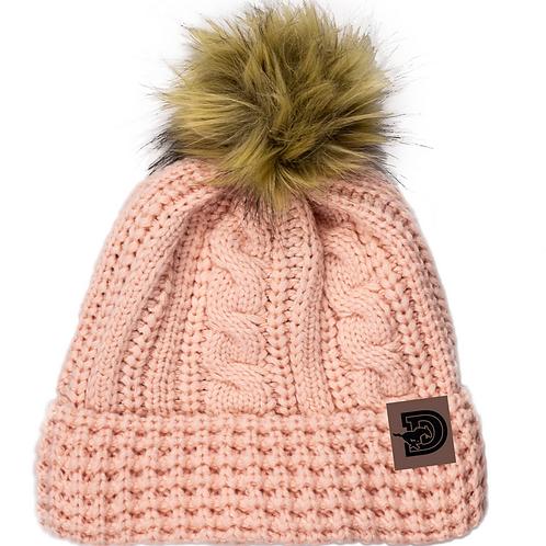 One Size Stylish Dawson Winter Hat-pink