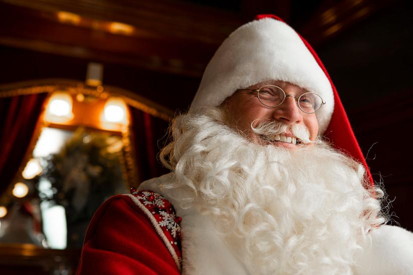 Editorial Santa Portrait