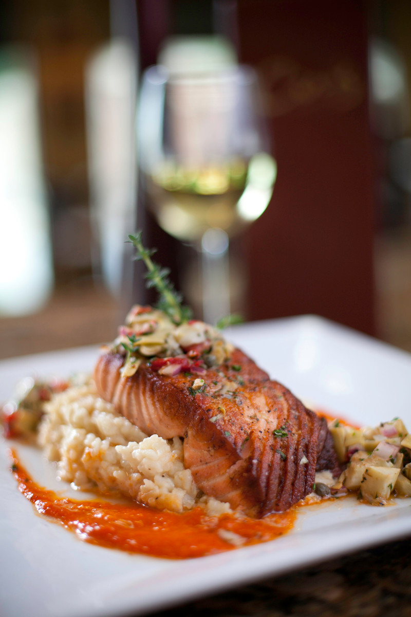 Commercial Food Photography Salmon