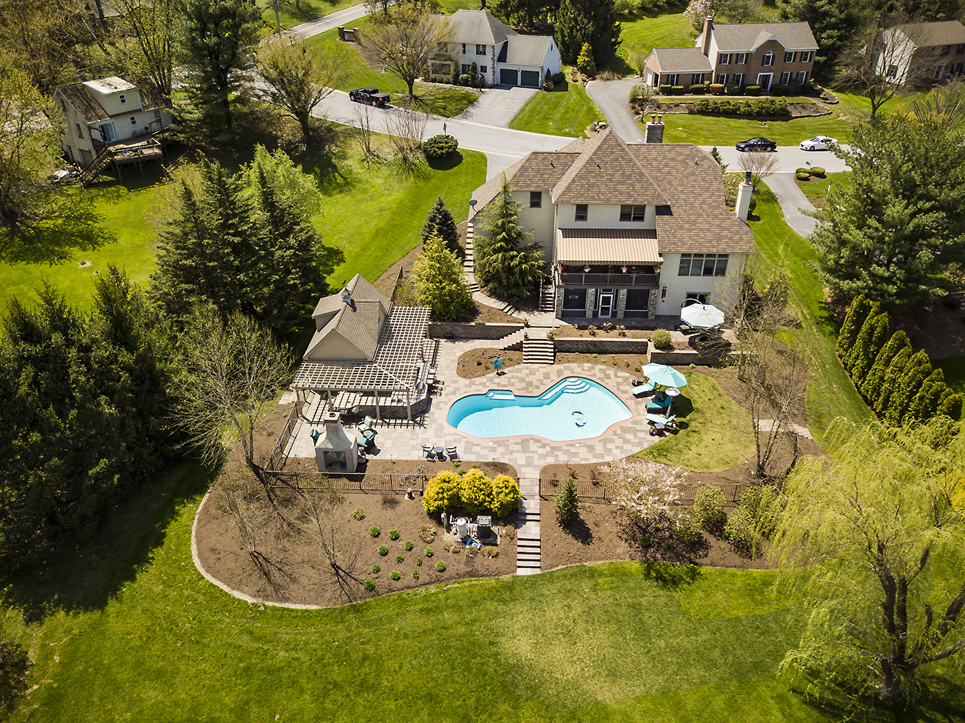 Lancaster Drone Real Estate