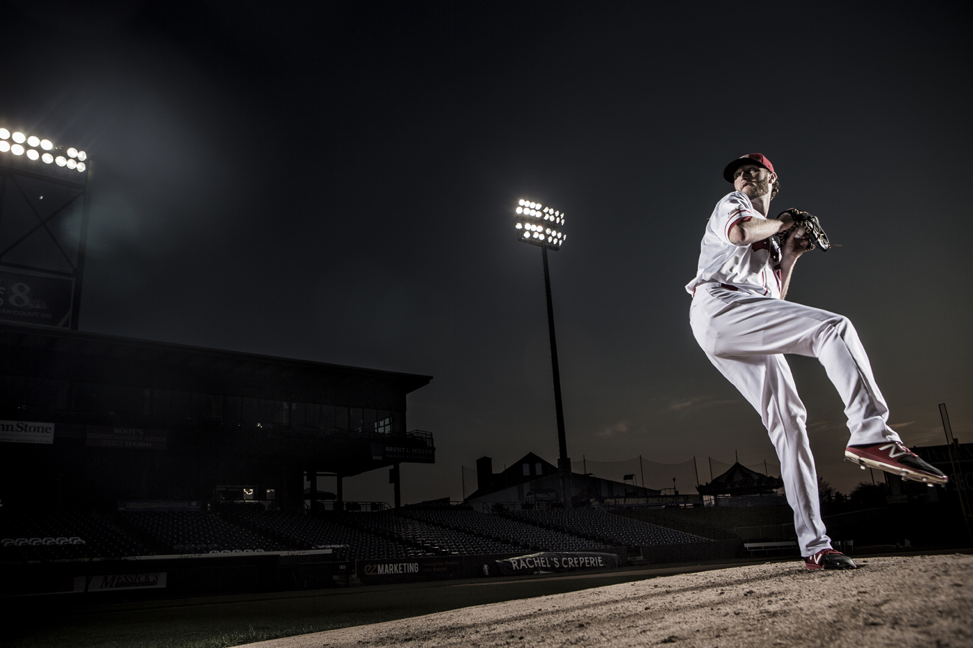 Baseball Pitcher Photograph