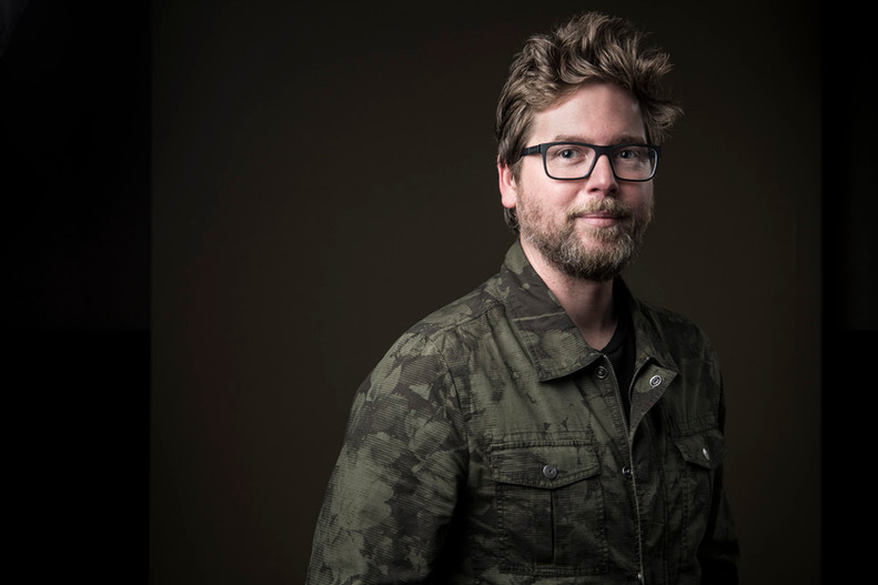 Twitter founder Biz Stoner Portrait
