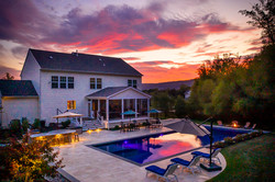 Sunset Architectural Photographer