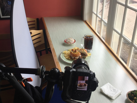 Behind The Scenes:  On Location Food Photoshoot