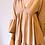 Thumbnail: Robe Courte Beige à Volants
