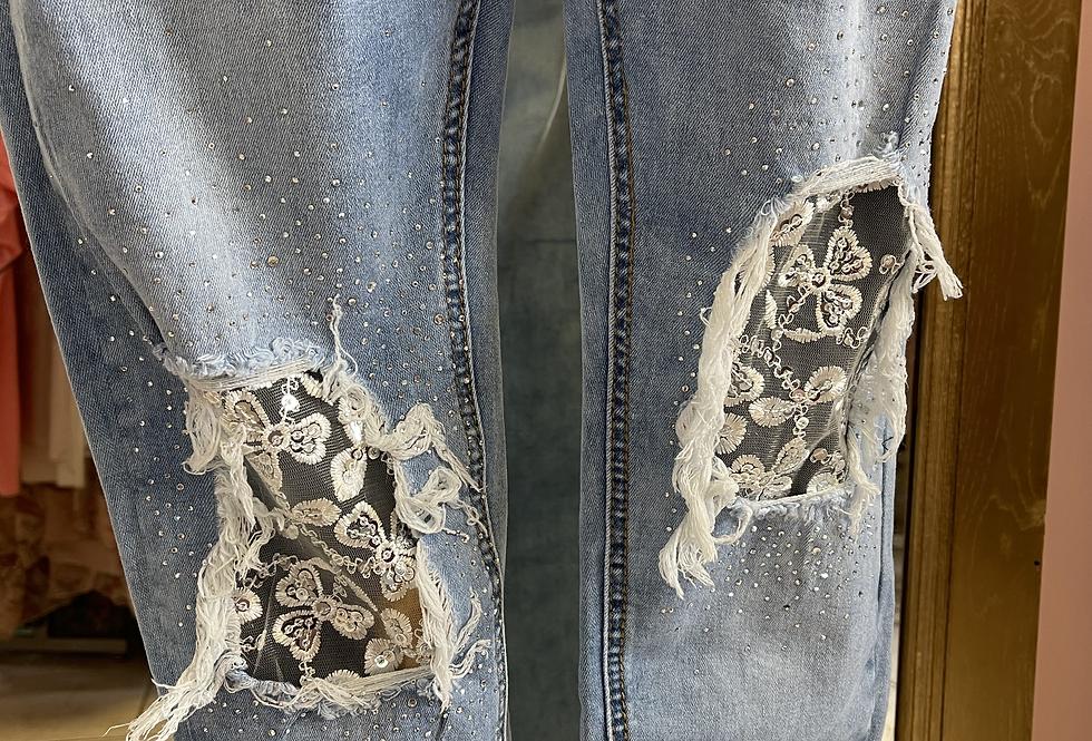 Jeans dentelle