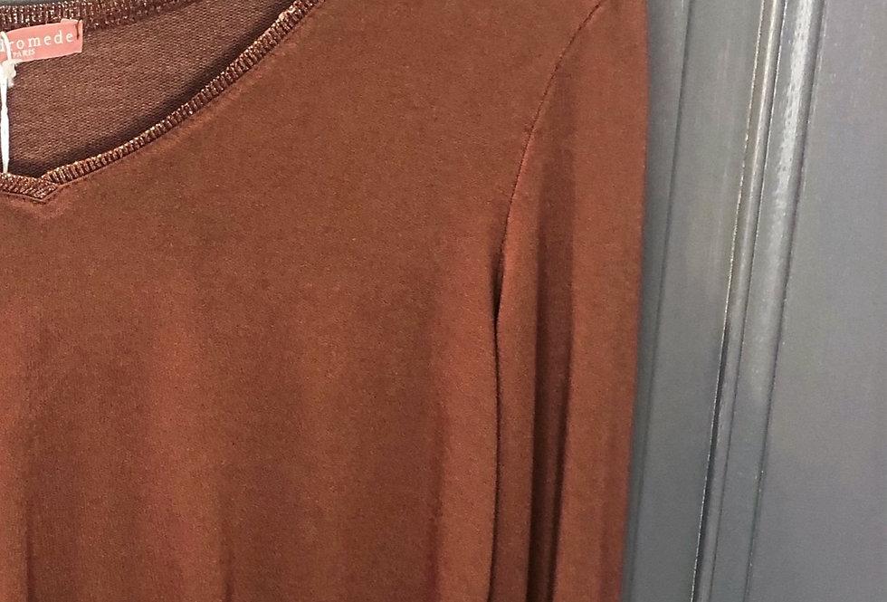 T-Shirt Manches Longues rouille