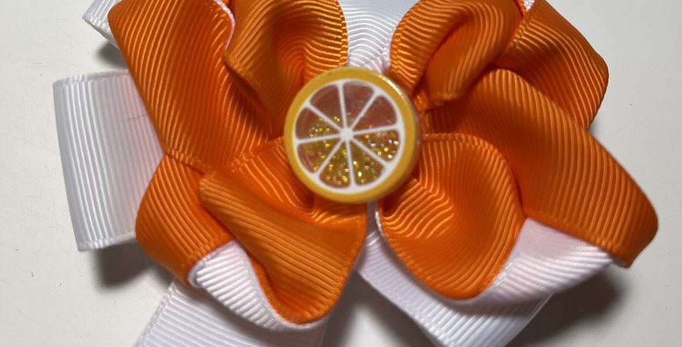 Barrette Orange