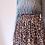 Thumbnail: Jupe Mi-Longue Kaia motif tacheté brun clair
