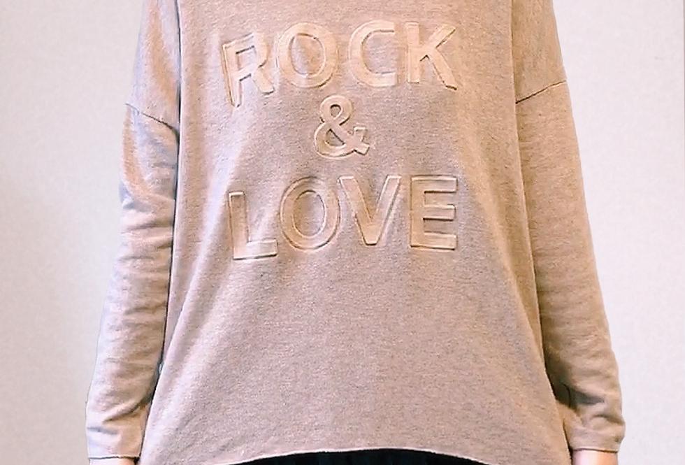 Pull Beige col v Rock & Love