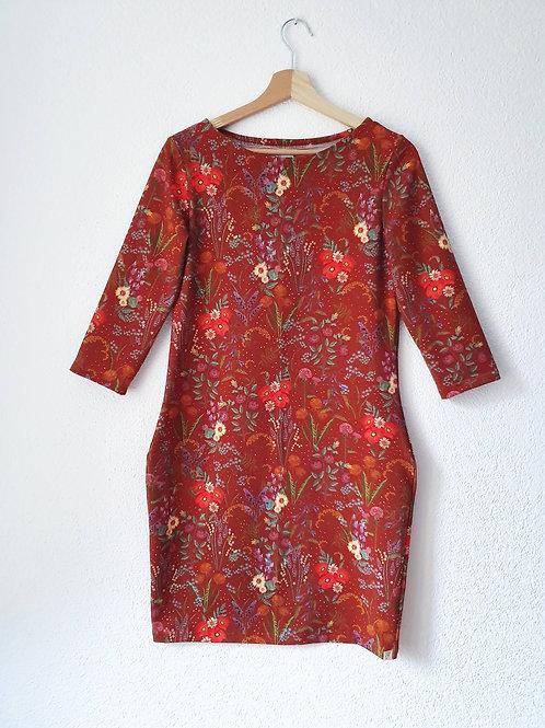 Lollipop Dress | Blütenmeer rusty