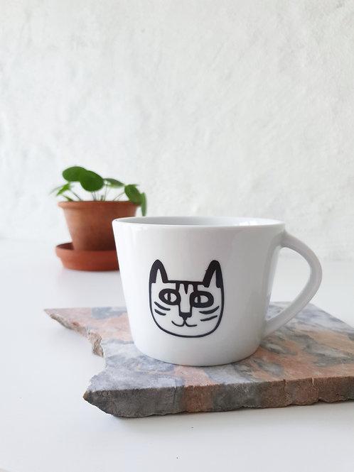 Cappuccino Tasse | Cat