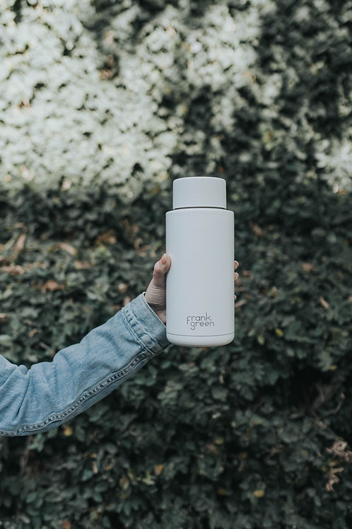 Ceramic Reusable Bottle 1Liter | frank green