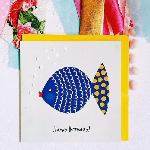 Postkarten | Happy Fish