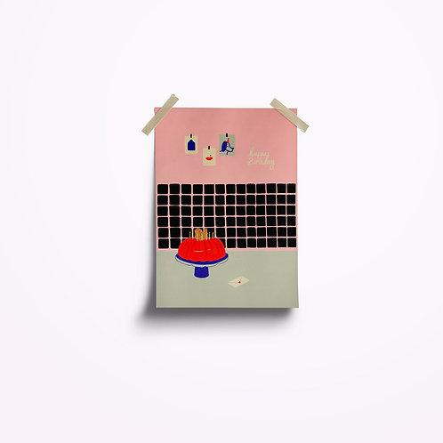 Postkarten | Happy Birthday