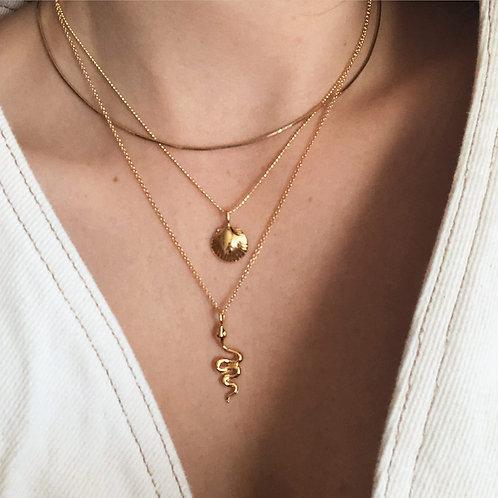 Halskette | Golden Shell