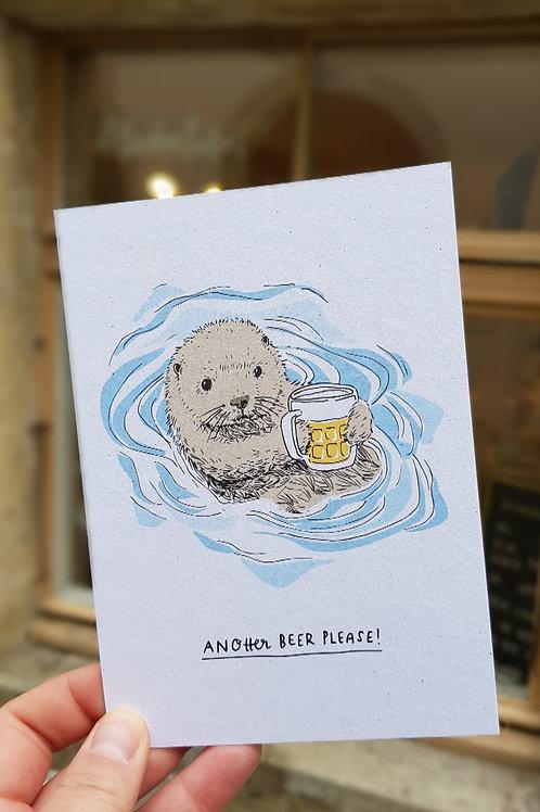 Postkarten | Anotter Beer Please