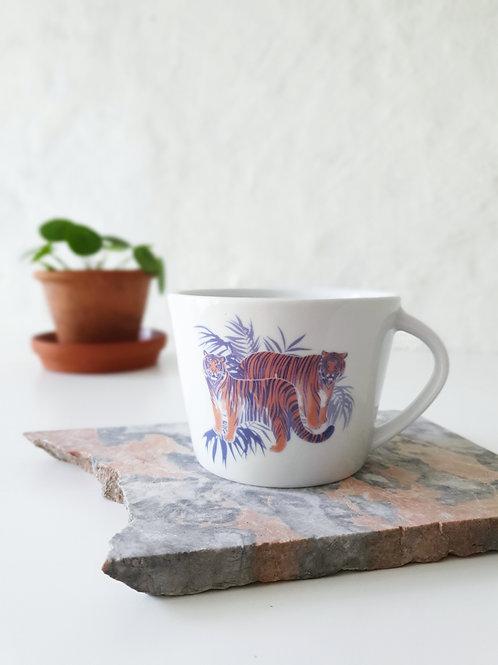 Cappuccino Tasse | Tiger