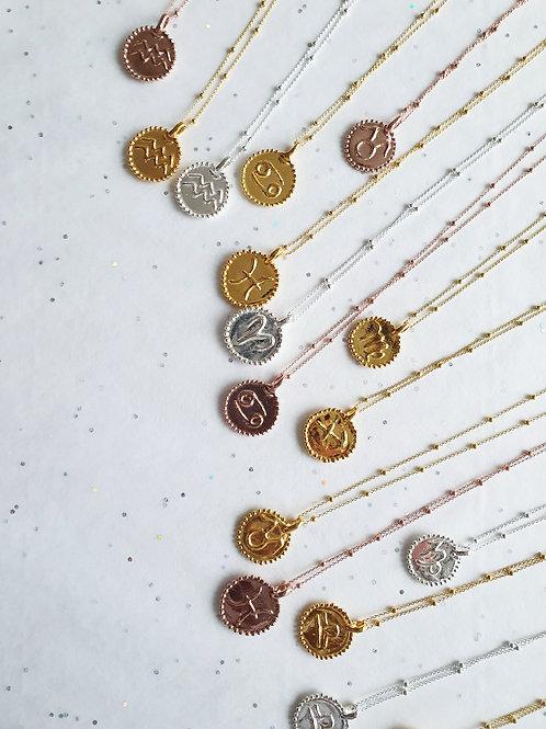 Halskette | Sternzeichen Gold
