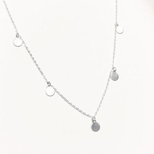 Halskette | Dangle Silber