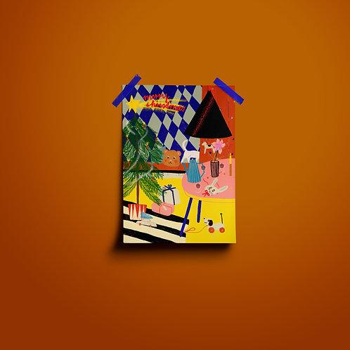 Postkarten | Wohnzimmer Merry Xmas