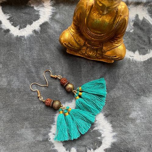 Ohrringe| Rudraksha