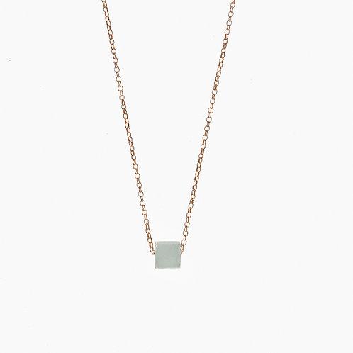 Halskette | Amazonitkubus
