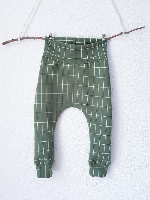 Baggy Pants | Gitter grün