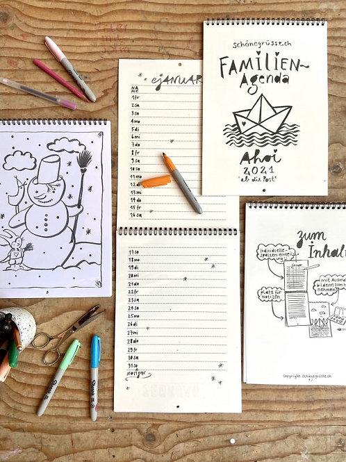 Familienkalender 2021 | Schönegrüsse