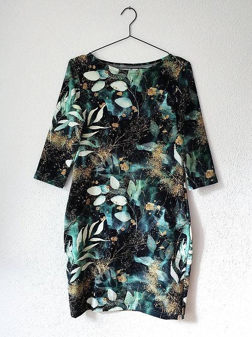 Lollipop Dress | Golden Dust Leaves