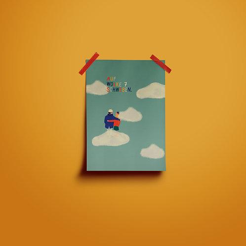 Postkarten | Auf Wolke 7 schweben