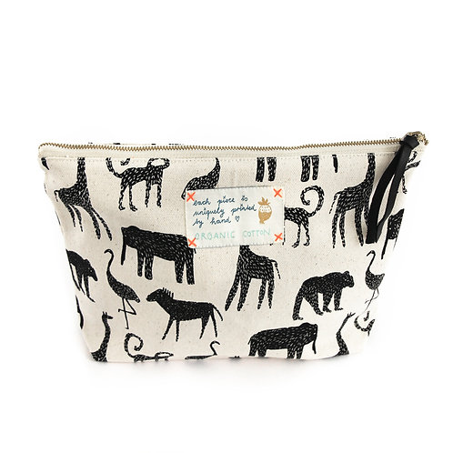 Organic Cotton Pouch | My Zoo