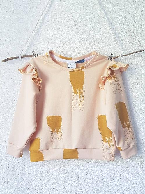 Ruffel Pullover | Goldenrose